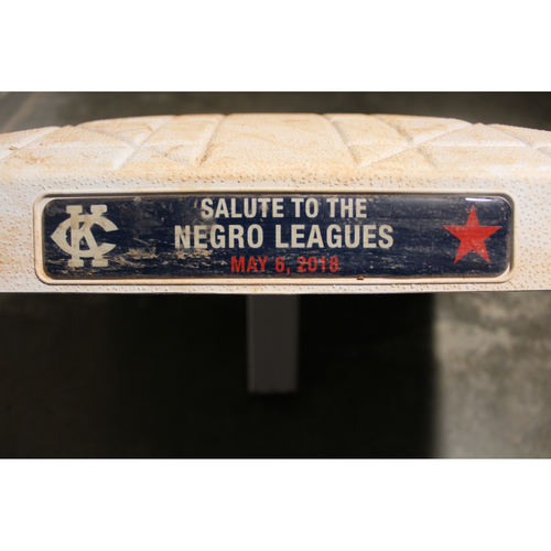 Photo of Game-Used 2nd Base: Innings 1-5 (DET at KC - 5/6/18)
