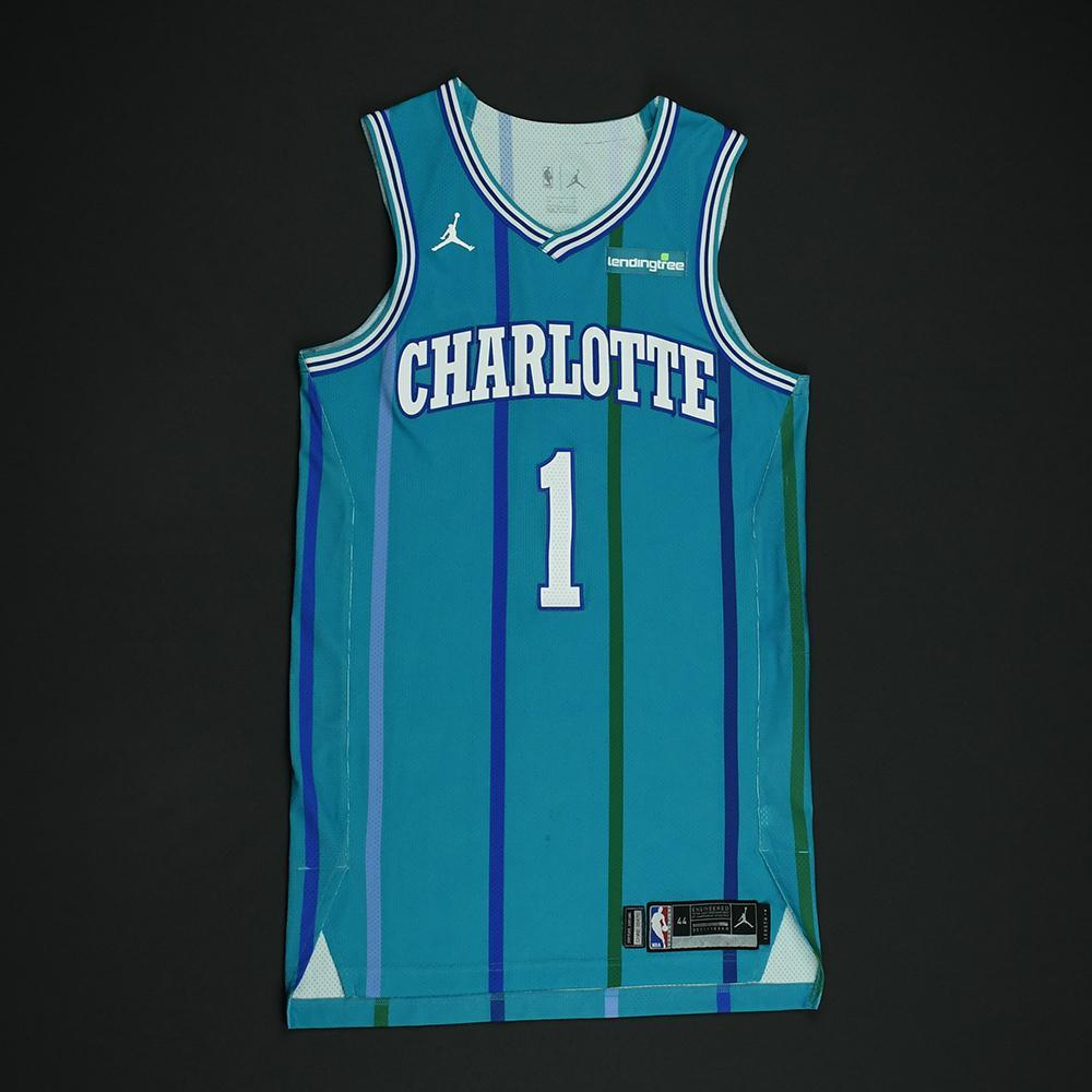 3a0bdc3f06f Malik Monk - Charlotte Hornets - Game-Worn Classic Edition 1988-97 Road  Style