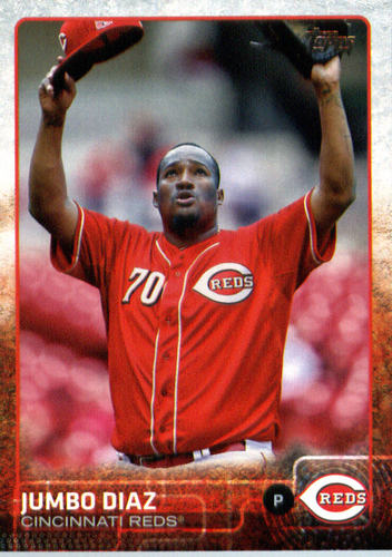 Photo of 2015 Topps Update #US101 Jumbo Diaz RC