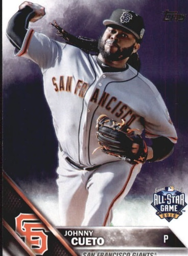 Photo of 2016 Topps Update #US252A Johnny Cueto AS