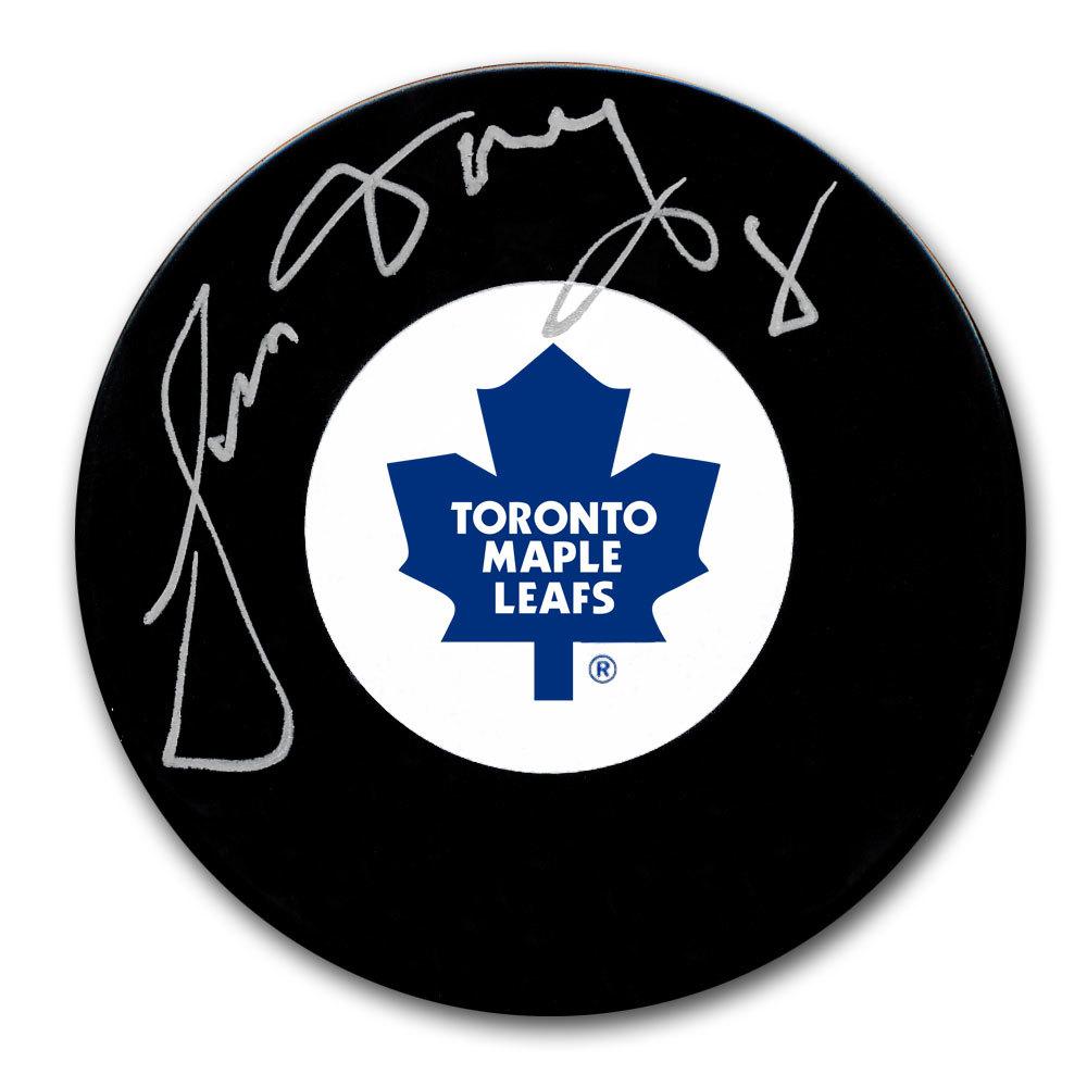 Jim Dorey Toronto Maple Leafs Autographed Puck