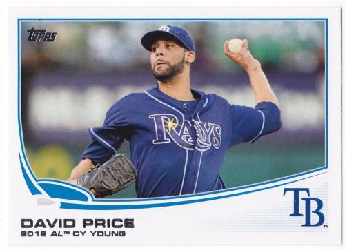 Photo of 2013 Topps #627 David Price