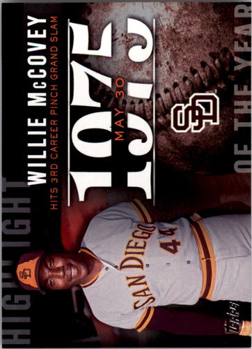 Photo of 2015 Topps Highlight of the Year #H18 Willie McCovey
