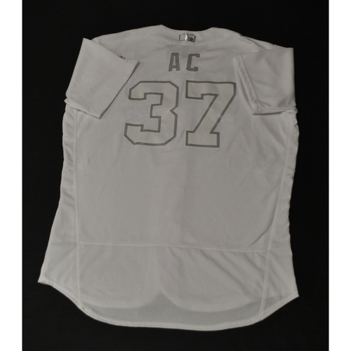"Photo of Alex ""AC"" Cintron Houston Astros Game-Used 2019 Players' Weekend Jersey"