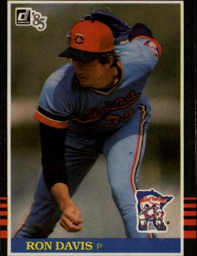 Photo of 1985 Donruss #120 Ron Davis