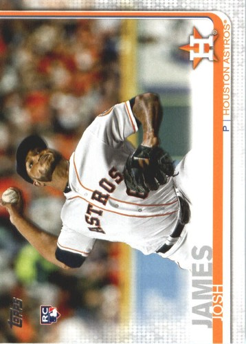 Photo of 2019 Topps #584 Josh James RC