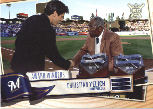 Photo of 2019 Topps Big League #375 Christian Yelich