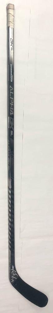 #13 Warren Foegele Game Used Stick - Autographed - Carolina Hurricanes