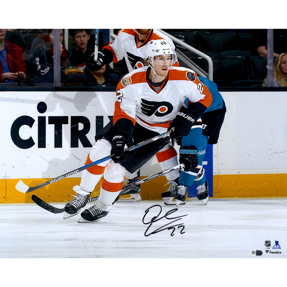 Dale Weise Philadelphia Flyers Autographed 16