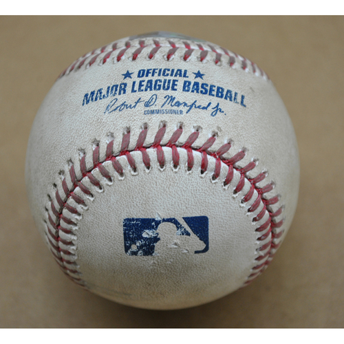 Game-Used Baseball - STL at PIT - 9/18/2020 - Pitcher: Trevor Williams, Batter: Tyler O'Neill, Top 2, Home Run