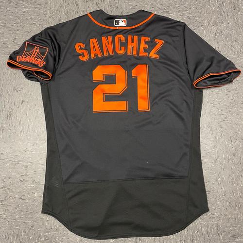 Photo of 2021 Black Home Alt Jersey - #21 Aaron Sanchez - Size 46