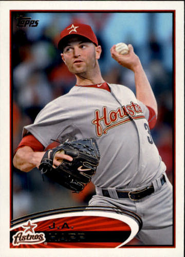 Photo of 2012 Topps #560 J.A. Happ