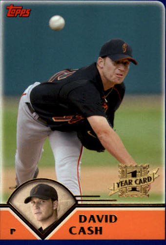 Photo of 2003 Topps Traded #T223 David Cash FY RC