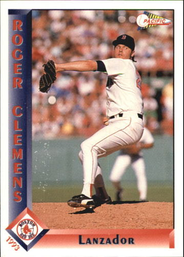 Photo of 1993 Pacific Spanish #30 Roger Clemens