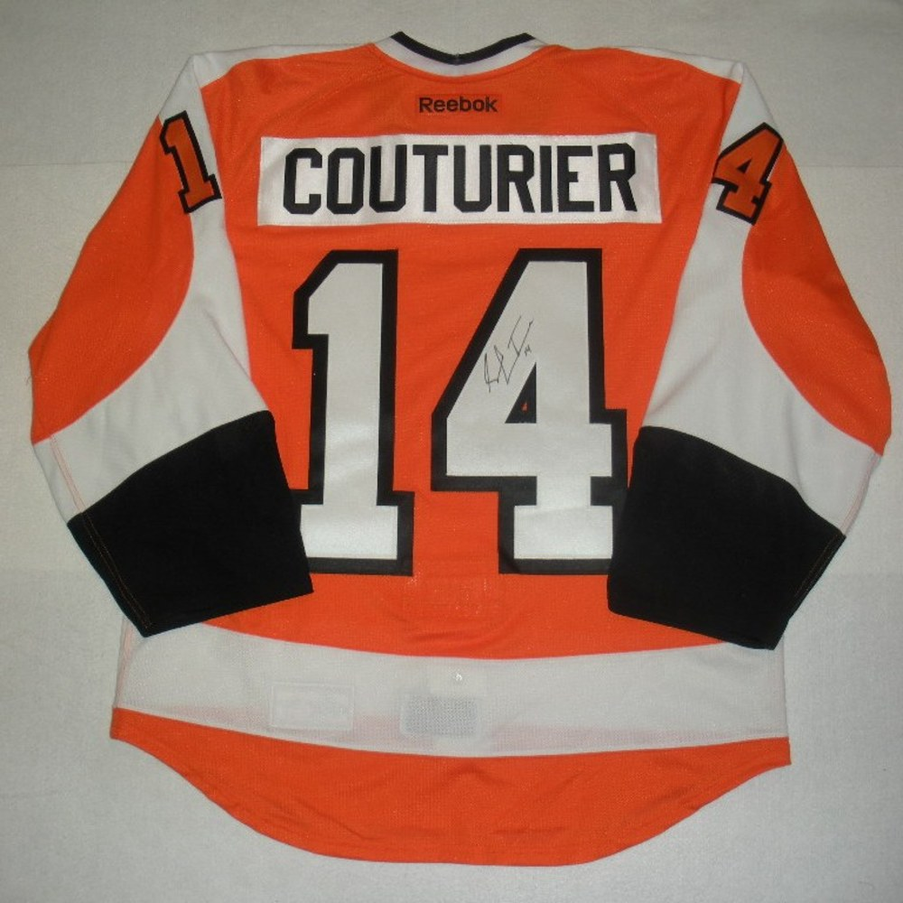 Sean Couturier - 2014 Philadelphia Flyers Wives Carnival - Autographed Event-Worn Jersey