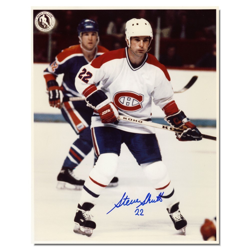 Steve Shutt Autographed Montreal Canadians 8x10 Photo