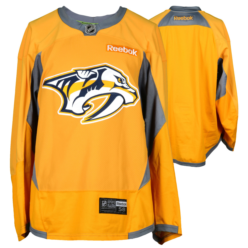 Mike Fisher Nashville Predators - 2017 Stanley Cup Final Practice-Worn Jersey