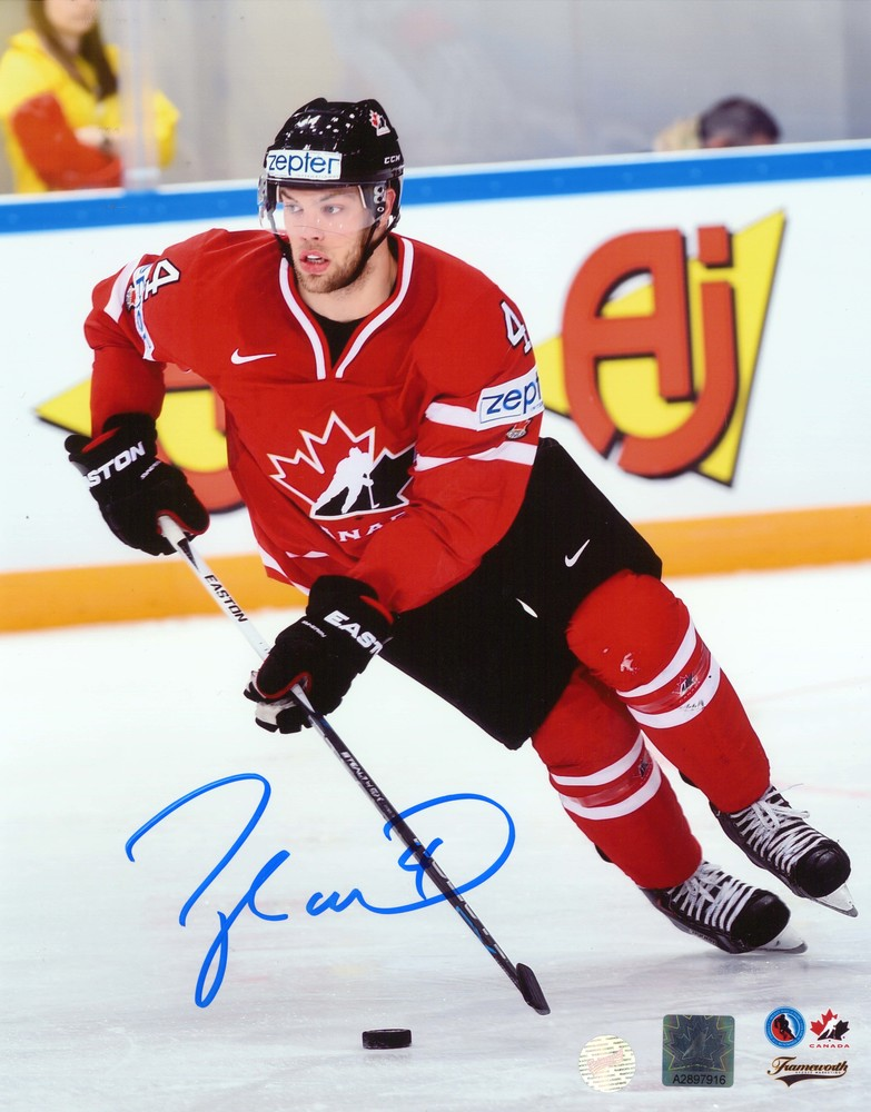 Taylor Hall - Signed 8x10 Unframed Canada Action