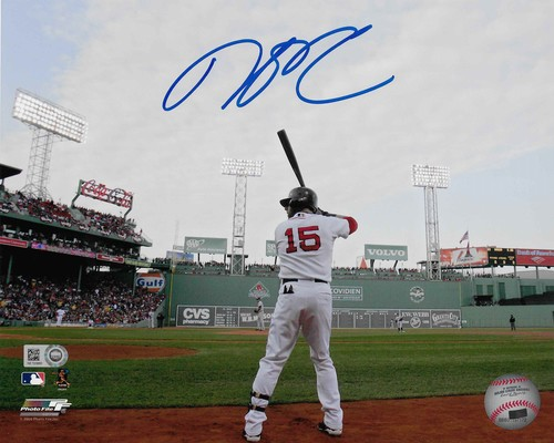 Photo of Dustin Pedroia Autographed 8x10 Photo (Fenway)