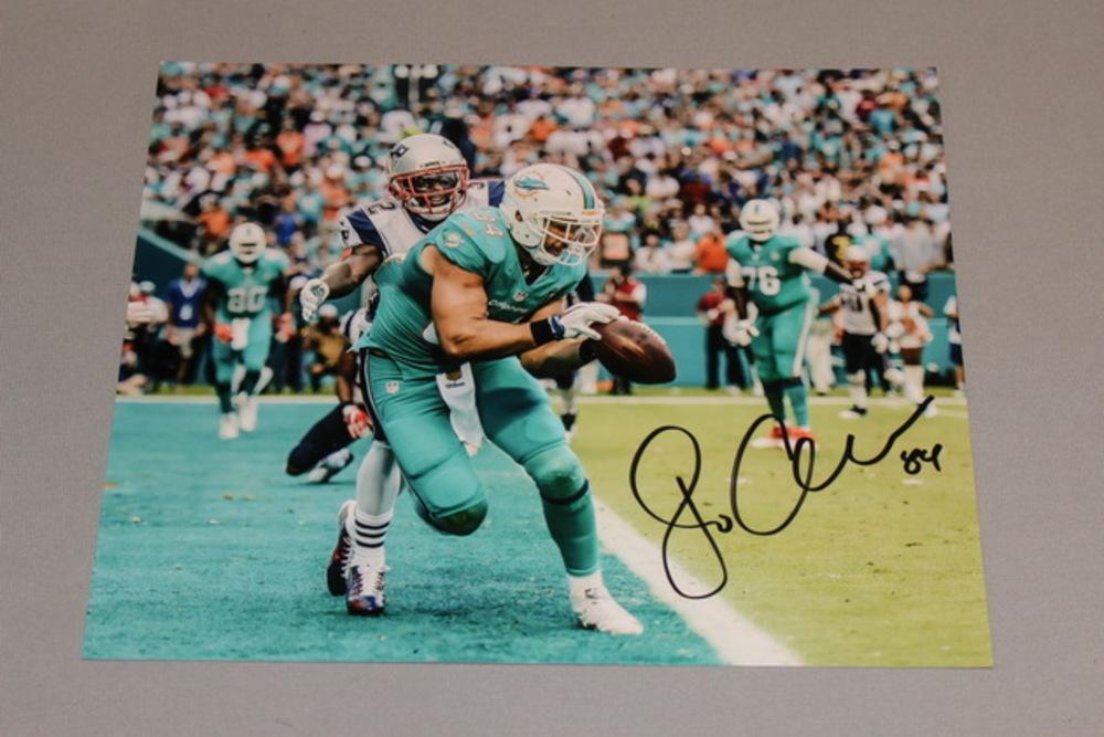 Dolphins - Jordan Cameron signed 8x10 photo