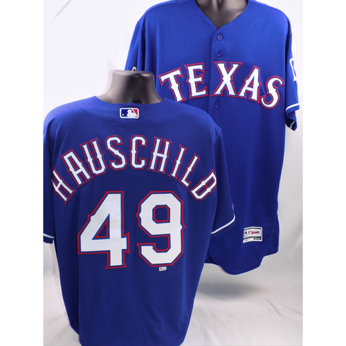 Photo of 2017 Mike Hauschild Blue Team-Issued Jersey