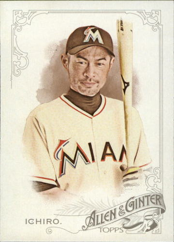 Photo of 2015 Topps Allen and Ginter #285 Ichiro