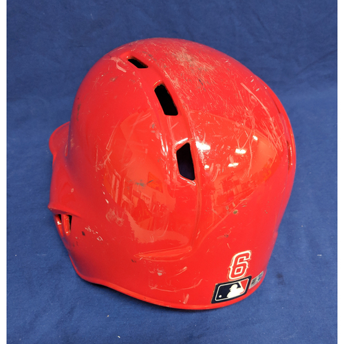 Photo of David Fletcher 2018 Team-Issued Helmet