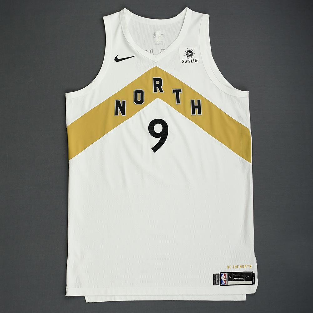 Serge Ibaka - Toronto Raptors - 2018-19 Season - Game-Worn White City Edition Jersey