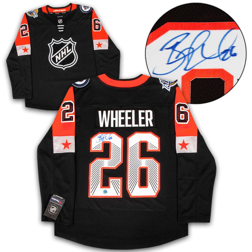 Blake Wheeler 2018 All Star Game Autographed Fanatics Hockey Jersey *Winnipeg Jets*