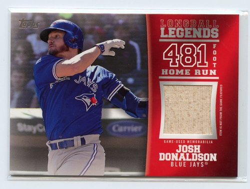 Photo of 2018 Topps Longball Legends Relics #LLRJD Josh Donaldson 035/100