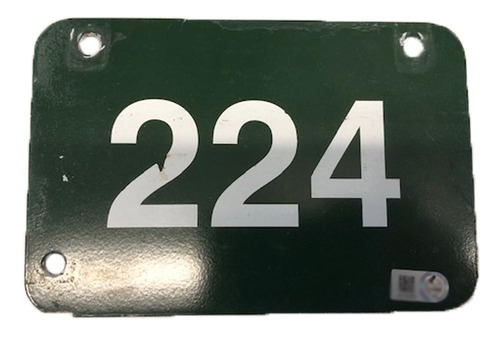 Photo of 12 Days of Auctions: Day 4 -- Wrigley Field Collection --  Aisle Marker 224