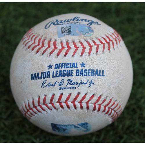 Photo of Game-Used Baseball: Leury Garcia 271st Career Hit (CWS @ KC - 6/7/19)