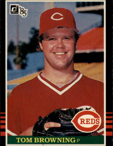Photo of 1985 Donruss #634 Tom Browning RC