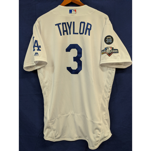 Photo of Chris Taylor Team Issued 2019 Home Postseason Jersey