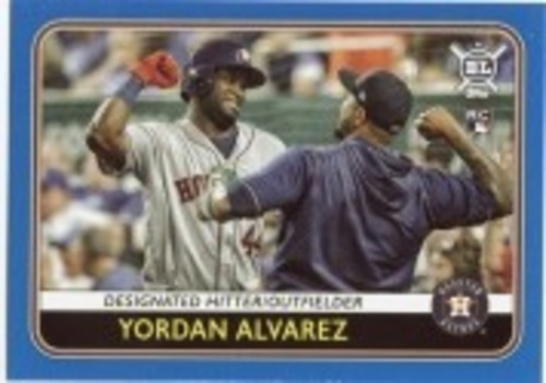 Photo of 2020 Topps Big League Blue #123 Yordan Alvarez