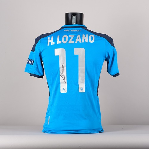 Photo of A signed  H .Lozano's  SSC Napoli jersey