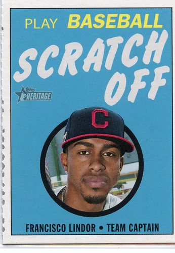 Photo of 2020 Topps Heritage '71 Topps Scratch Offs #12 Francisco Lindor