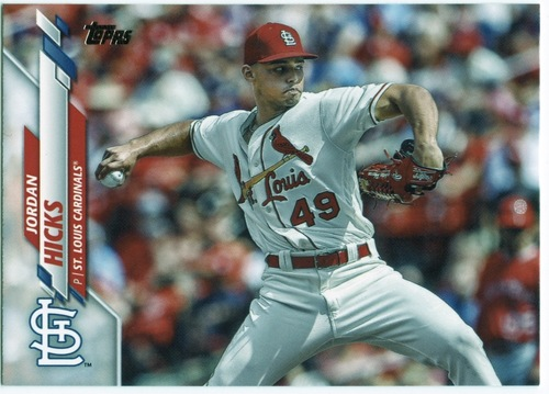 Photo of 2020 Topps #511 Jordan Hicks