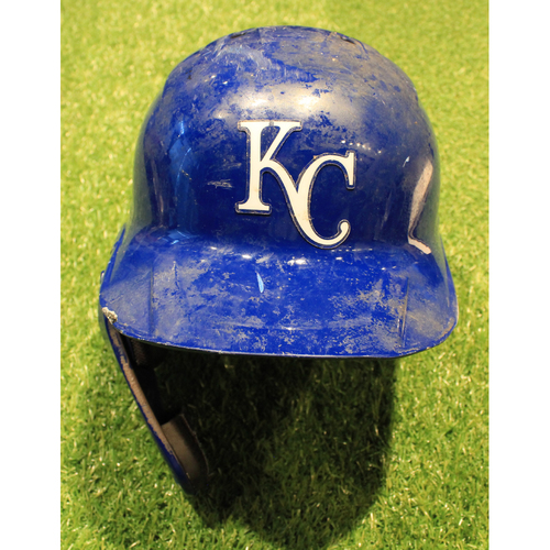 Photo of Game-Used Helmet: Nicky Lopez #1 (DET @ KC 9/26/20)