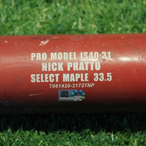 Photo of Team-Issued Broken Bat: Nick Pratto #88