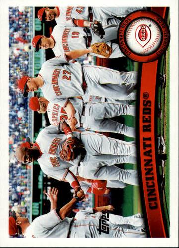 Photo of 2011 Topps #192 Cincinnati Reds TC