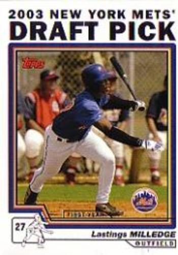 Photo of 2004 Topps #680 Lastings Milledge DP RC