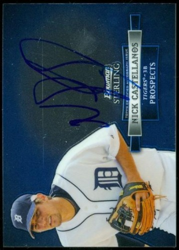 Photo of 2012 Bowman Sterling Prospect Autographs #NC Nick Castellanos