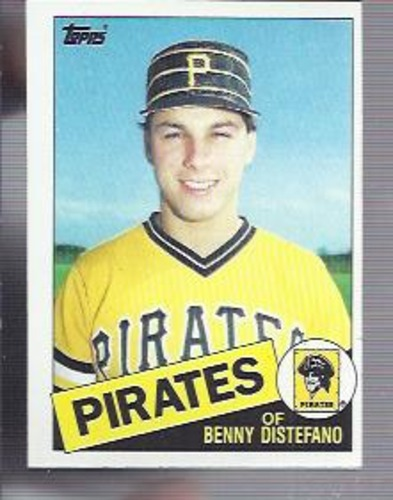 Photo of 1985 Topps #162 Benny Distefano