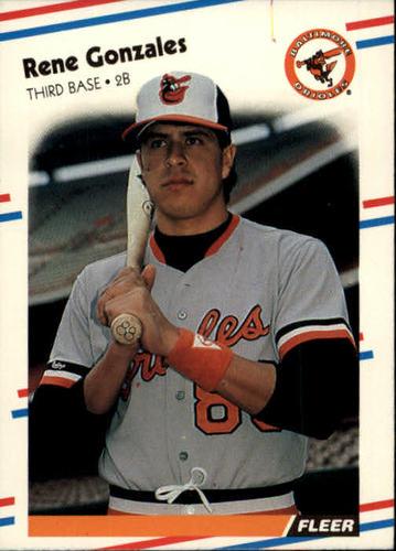 Photo of 1988 Fleer #560 Rene Gonzales RC