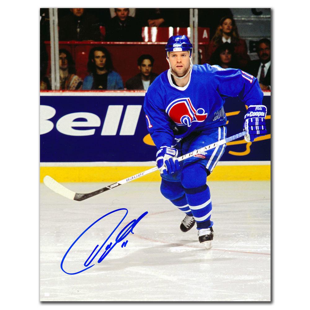 Owen Nolan Quebec Nordiques Autographed 8x10