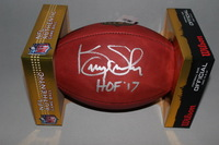 HOF - SEAHAWKS KENNY EASLEY SIGNED AUTHENTIC FOOTBALL