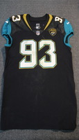 LONDON GAMES - JAGUARS CALAIS CAMPBELL GAME WORN JAGUARS JERSEY (SEPTEMBER 24, 2017) SIZE 46
