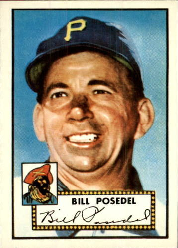 Photo of 1983 Topps 1952 Reprint #361 William Posedel CO