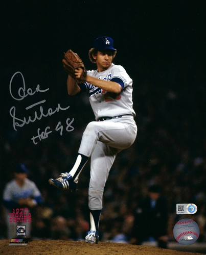 "Photo of Don Sutton ""HOF 98"" Autographed 8x10 Photo (Pitching)"